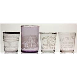 Whiskey Shot Glasses 2012aug - Saloon