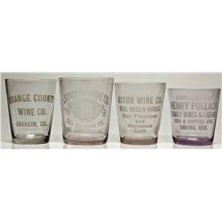 Wine Shot Glasses 2012aug - Saloon