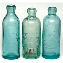 Tucson Soda Bottles AZ - Tucson,Pima County - c1900 - 2012aug - Saloon