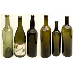 Early California Wine Bottle Collection CA - , -  - 2012aug - Saloon