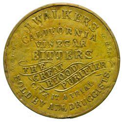 J. Walkers California Vinegar Bitters Mirror CA - , - 1868 - 2012aug - Saloon