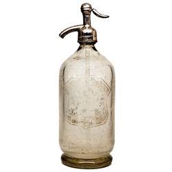 Balkan Soda Works Seltzer Bottle CA - Colma,San Mateo County - c1910-1925 - 2012aug - Saloon