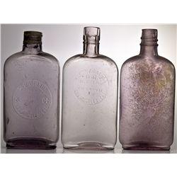 Los Angeles Pint Bottles CA - Los Angeles,1900-1915 - 2012aug - Saloon