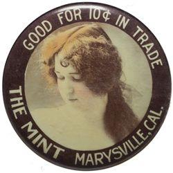 Mint Mirror CA - Marysville,Yuba County - c1905-1910 - 2012aug - Saloon