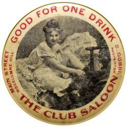 Club Saloon Mirror CA - Mokelumne Hill,Calaveras County - c1900-1910 - 2012aug - Saloon