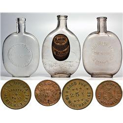 Monterey Bay Bottles CA - Monterey, - 1899 - 2012aug - Saloon