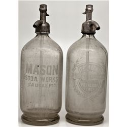 Petaluma Area Seltzer Bottles CA - Petaluma,Sonoma County -  - 2012aug - Saloon
