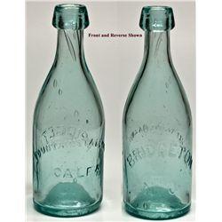 Fountain & Tallman Soda Bottle (Rare) CA - Placerville,El Dorado - 1852 - 2012aug - Saloon