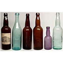 Beer Bottle Collection CA - Sacramento, -  - 2012aug - Saloon