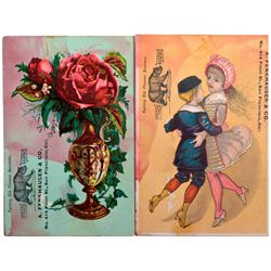 A. Fenkhausen & Co. Advertising Cards CA - San Francisco,c1895 - 2012aug - Saloon