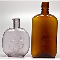 City Hall Wine Vault Picnic Flasks CA - San Francisco,1914 - 2012aug - Saloon