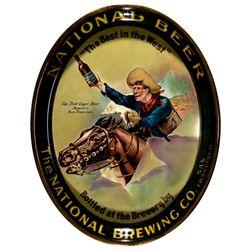 National Brewing Company Beer Tray CA - San Francisco,2012aug - Saloon