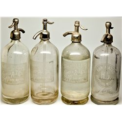 Seltzer Bottle Quartet CA - San Mateo,c1905-1915 - 2012aug - Saloon