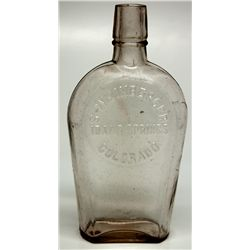 S. Weinberger Shoo Fly Flask CO - Idaho Springs,Clear Creek County - c1900-1914 - 2012aug - Saloon