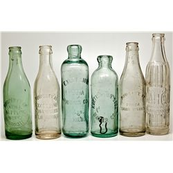 Big Island Hawaiian Bottle Sextet HI - , - c1902-1920 - 2012aug - Saloon