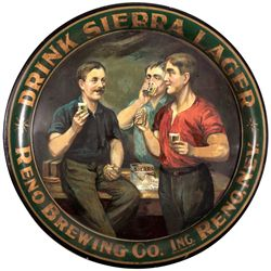 Sierra Lager Beer Tray NV - Reno,Washoe County - 2012aug - Saloon