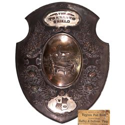 Virginia Pool Room Shield NV - Virginia City,Storey County - c1920 - 2012aug - Saloon