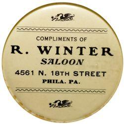 R. Winter Saloon Mirror PA - Philadelphia,c1900-1910 - 2012aug - Saloon