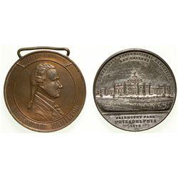 Centennial Exposition Medals 2012aug - Worlds Fair