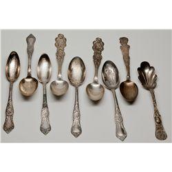 Columbian Exposition Souvenir Spoons IL - Chicago,1893 - 2012aug - Worlds Fair