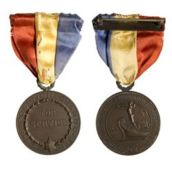 Pan Pacific Expo Medal 2012aug - Worlds Fair