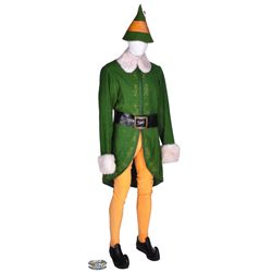 Complete Will Farrell hero  Buddy  elf costume from Elf