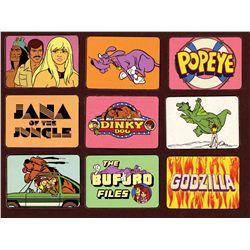 Multi-cel Publicity setup for 1978 Hanna-Barbera Productions