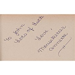 Walt Disney and Mouseketeers collection of autographs