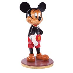 Original artist's proof large Mickey Mouse standing figure