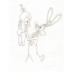Original production drawing from Tummy Trouble