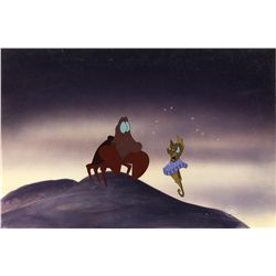 Original production cel from The Little Mermaid