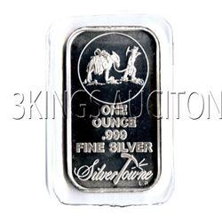 Silvertowne Silver Bullion 1 oz Bar .999 fine