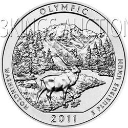 2011 Silver 5oz. Olympic ATB