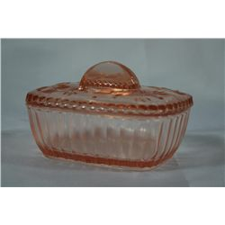 'Depression Glass' Candy Dish Container