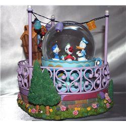 Walt Disney 'Donald Duck Song' Music Globe