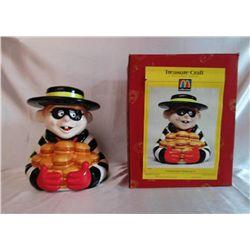1997 McDonald's Hamburgler Cookie Jar