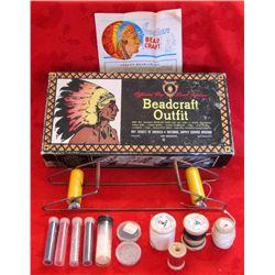 Original 1960 Boy Scouts Indian Beadcraft in Box