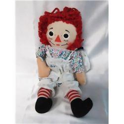 Vintage 'Knickerbocker' Raggedy Ann Doll In Box