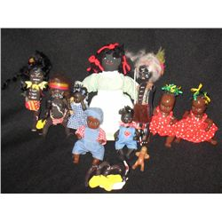 Collection of Old African & African American Dolls