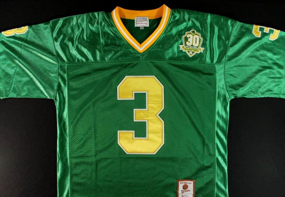 newest 35c6e c9703 Joe Montana Signed Notre Dame Jersey (Montana Hologram)