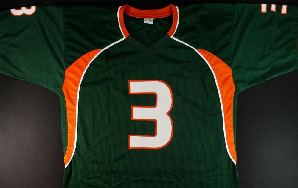 072b099d8 ... Image 3   Frank Gore Signed University of Miami Jersey (JSA COA)