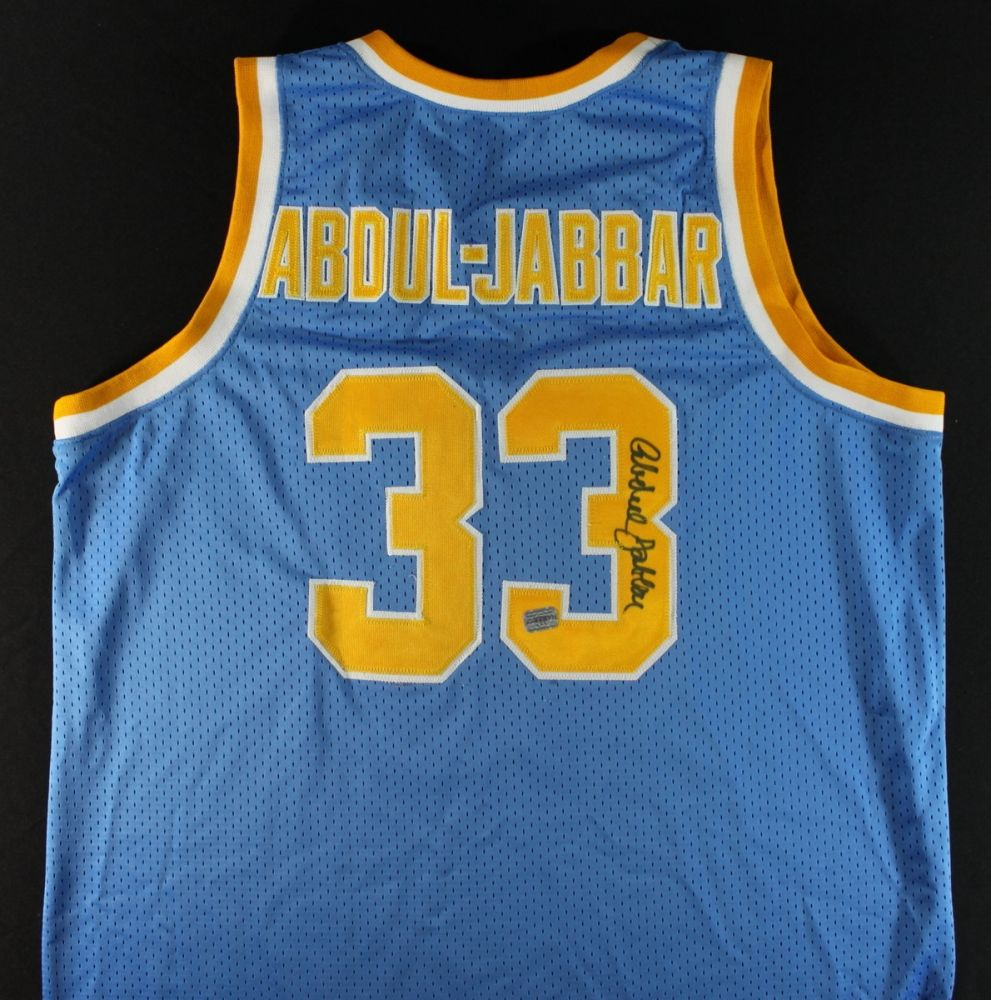 timeless design 8b3a4 8ab01 Kareem Abdul-Jabbar Signed UCLA Jersey (AAA COA)