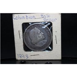1893 COLUMBIAN HALF DOLLAR