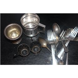 LOT OF MISC. STERLING - 17 OZ