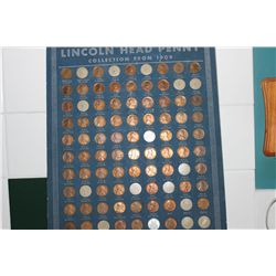 LINCOLN HEAD PENNY COLLECTION - KEY & SEMI-KEY(12S - 12D - 11S - 11D 13S - 13D - 24D - 22D - 24 BROK