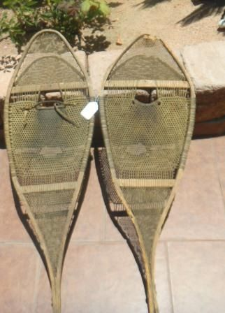 Early Eskimo Snow Shoes