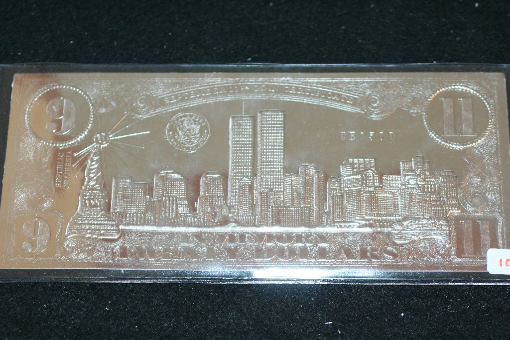 United in memory september 11th coin