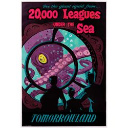 20,000 LEAGUES UNDER THE SEA ATTRACTION POSTER