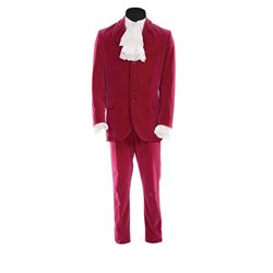 "Mike Myers ""Austin Powers"" red velvet suit from Austin Powers: The Spy Who Shagged Me"