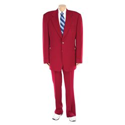 "WILL FERRELL ""RON BURGUNDY"" COSTUME FROM ANCHORMAN: THE LEGEND OF RON BURGUNDY"